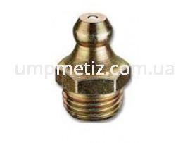 Масленка (180)  M10*1  цинк желтый DIN 71412 AS