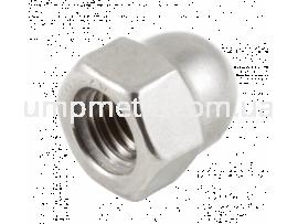 Гайка колпачковая одностенная M10 A2 DIN 1587