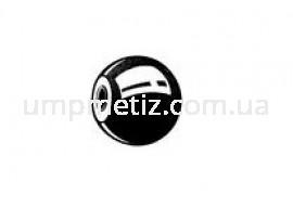 Ручка сферическая M 6*20 цинк белый DIN 319 E
