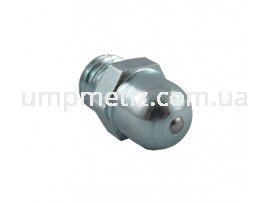 Масленка (180) M10*1 цинк белый DIN 3402 A