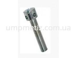 Винт для пломб M5*12 5.8 цинк белый DIN 404