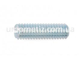 Винт установочный M10*16 14H цинк белый DIN 551 (ISO 4766)