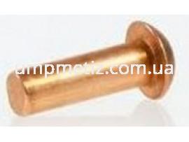Заклепка полукруглая 2*10 латунь DIN 660 (PN 82952)
