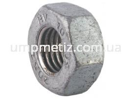 Гайка M12 10 цинк гоорячий DIN 6915