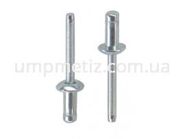 Заклепка Hard Lock с плоской головкой 4.8*11.5 St/St UMP399