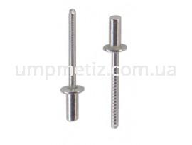 Заклепка герметичная стандартная. 3.2*12 A2/A2  ISO 16585