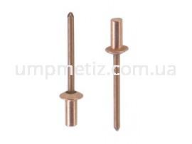 Заклепка герметичная стандартная. 3.2*9.5 Cu/St UMP387