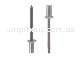 Заклепка вытяжная герметичная стандартная 4.8*21 Al/St  ISO 15973