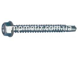 Саморез для металопрофиля #3 ST 4,8*13  цинк белый ISO 15480