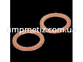 Кольцо медное уплотняющее 10*13.5*1 Cu DIN 7603 A