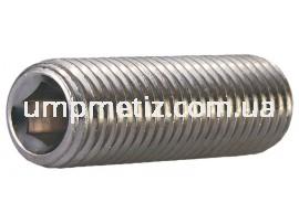 Винт установочный M10*20 A2 DIN 913 (ISO 4026)