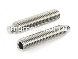Винт установочный M10*20 A2 DIN 915 (ISO 4028)
