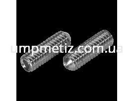Винт установочный M 6* 8 A2 DIN 916 (ISO 4029)