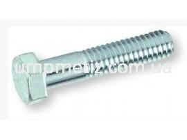 Болт M10*1,25*40 8.8 цинк белый DIN 960