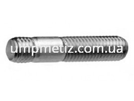 Шпилька резьбовая (1d) M10*30 8.8 цинк белый DIN 938
