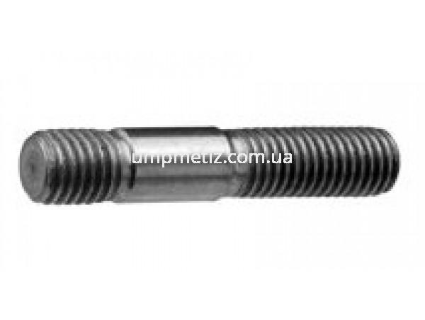 Шпилька резьбовая (1.25d) M16*80 8.8 цинк белый DIN 939