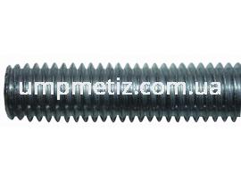 Шпилька резьбовая M10 4.8 цинк белый DIN 976